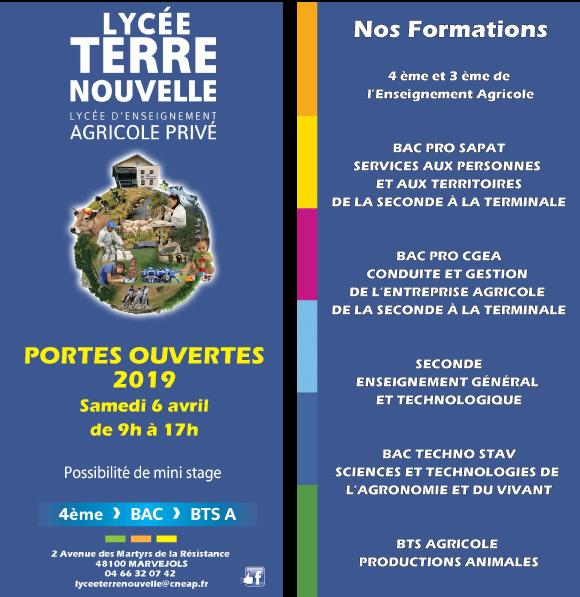 Portes-ouvertes-2019---Lycée-Agricole-Terre-Nouvelle